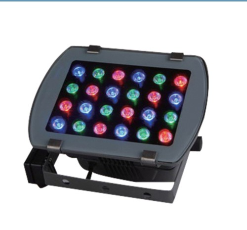 Color changing outdoor led flood light