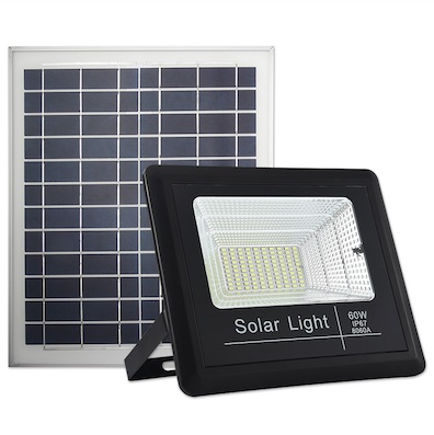 solar flood light 60w