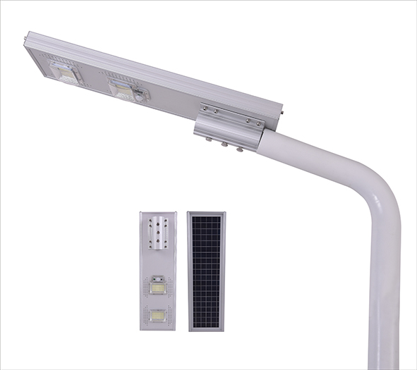 100w integrated solar street light