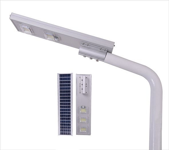 150w integrated solar street light